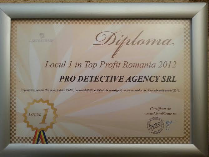 diploma 2012 pro detective agency